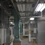Commercial HVAC mechanical room