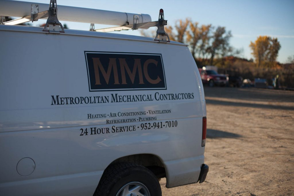 commercial service truck
